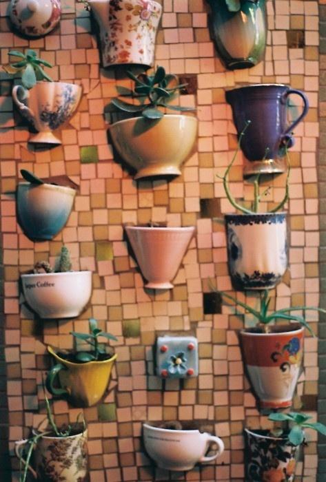Поделки на кухню на стену